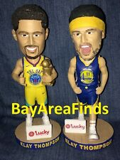 2 Golden State Warriors Klay Thompson Championship Headband Bobblehead SGA GSW
