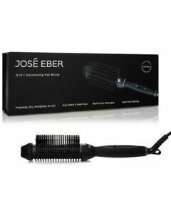 Jose Eber Volumizing Hair Brush Women's Digital Straightening Brush NEW IN BOX