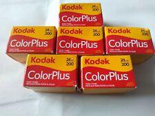 6 X Kodak ColorPlus Film 200 35mm