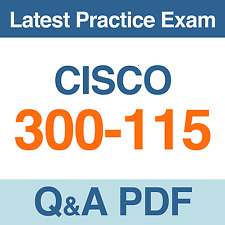 Implementing Cisco IP Switched Networks Practice Test 300-115 Exam Q&A PDF