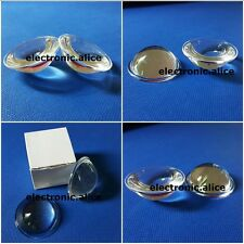 44mm Optical Glass Lens Collimator Plano-Convex for Led Projector & Led Lamp