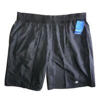"Champion Men's Black 11"" Shorts SIZE 2XL New"