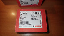 Legrand 411504 - Interrupteur Différentiel 25A - Type AC 30Ma - 2 poles
