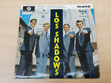 "EX-/EX !! The Shadows/Los Shadows/1963 Columbia 7"" Single EP"