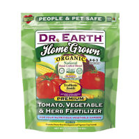"""Dr. Earth  Home Grown  Fertilizer  For Tomatoes, Vegetables, Herbs 4 lb."""