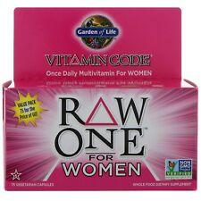 Vitamina Código Puro un diario Multivitamínico para mujer por Garden Of Life -