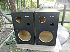 PIONEER  PROMUSICA  90  SPEAKER  CABINETS  (BLACK/BROWN  VINYL)  PAIR