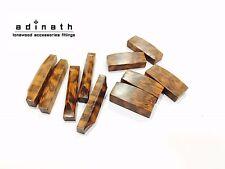Snakewood Violin Nut and Saddles : 5 nuts + 5 saddles