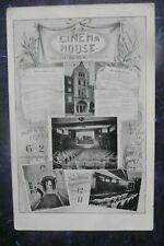 More details for cinema house oxford st .london advert  postcard