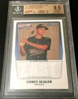 Corey Seager 2011 Bowman Perfect Game Rookie Card RC graded BGS 9.5 GEM Dodgers