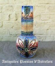 B2018278 - Vase en céramique rouge-fontaine Baudour - Pièce unique