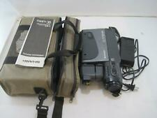 Sharp VL-L63U Slim Cam High Quality VHS Camcorder w/ Carrying Case and Charger
