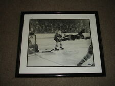 Bobby Orr Boston Bruins Autographed Framed 16x20 B&W Photo-STEINER