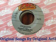 Frankie Lymon-Love Is A Clown/Am I Fooling Myself Again Unplayed 45 Rpm