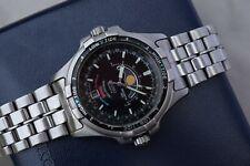 Seiko Tide Master Moon Phase Tidal Chonometer Watch 6F24-701A Sports 150 1991