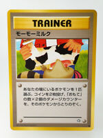 Pokemon card Trainer Moo Moo Milk Japan 1996 1st Neo Genesis F/S 3