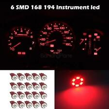 20x Super Red Gauge Instrument Cer Sdometer Dashboard Led Light Bulbs 168 Fits 1986 Ford Ranger