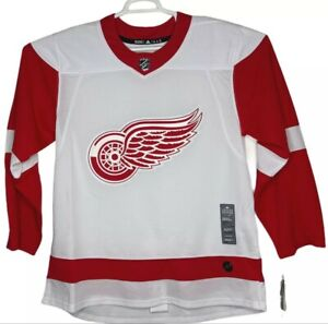 Detroit Red Wings Size 54=XL Adidas Nhl Hockey Jersey Climalite White Away