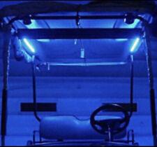 6PC LED BLUE STRIP FOR GOLF CART KART NEON UNDERBODY UNDERGLOW LIGHT 12V CUSTOM