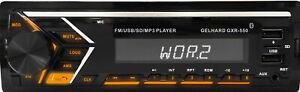 MP3-Autoradio Bluetooth Freisprechfunktion RDS 2xUSB SD 4x50 W Gelhard GXR550