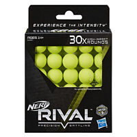Nerf Rival E3397 Precision Battling 30x High-impact Rounds Refills Brand New