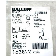 H● BALLUFF BES 516-377-S49-C ( BES01LR) Inductive Standard Sensors PNP New