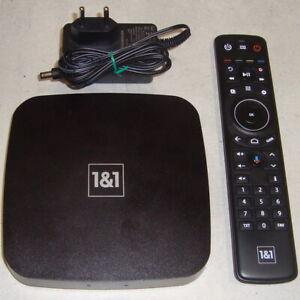 1&1 TV BOX Sagemcom DIW387 UHD 4K Ultra HD TOP-Zustand 100% OK