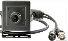 "1/3"" EFFIO-V CCD 800TVL Mini-box Hidden Spy USB CCTV Camera with Metal Case New"