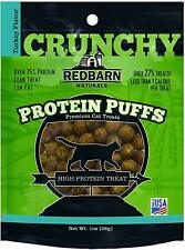 Redbarn Protein Puffs Crunchy Turkey Flavor Treats for Cats 1 Ounce