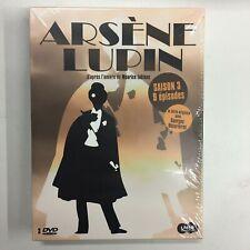 Arsène Lupin Saison 3 Coffret 3 DVD 9 épisodes neuf sous blister c26