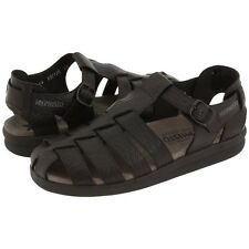 Mephisto Sam Black Grain Comfort Fisherman Sandal Men's sizes 40-48 NEW