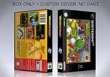 YOSHI'S STORY. PAL ENGLISH. Box/Case. Nintendo 64. BOX + COVER. (NO GAME).