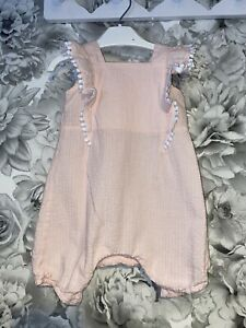 Girls Age 3-6 Months - Tu Sainsbury's Shorts Play Suit - Excellent Condition