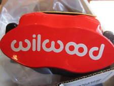 FIAT 500, ABARTH WILWOOD BIG BRAKE KIT-RED CALIPERS, REAR,