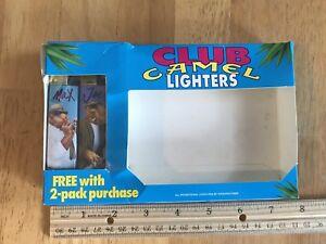 "Two ""Smokin' Joe Club"" Camel Cricket Cigarette Lighters, RJRTC Promotion, 1992."