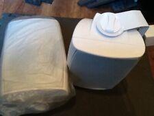 "New listing Outdoor speaker white waterproof Aria audio 5.25"" pair"