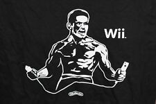 Promo Nintendo Wii Reggie Fils-Aime T-Shirt Rare Promo Premium Convention Sz L