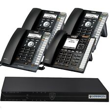 Vtech Phone System with 4 IP Phones & Mission Machines TD-1000 Server