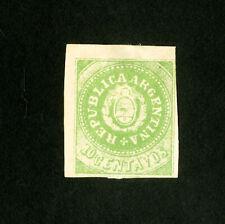 Argentina Stamps # 7f F-Vf Unused Catalog Value $1,000.00