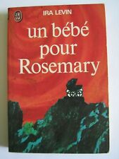 UN bébé pour Rosemary (rosemary's Baby) Ira Levin-Livre