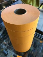 8 Rolls Orange Avery Monarch 1100 Series Price Tag Marking Gun Label Stickers