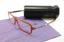 IC! Berlin Eyeglasses Frame Benedikt Light Brown Acetate Metal 55-14-130, 34