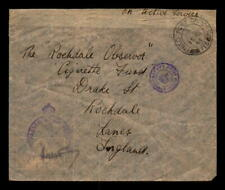 1944 British Africa Apo 718 Censor Cover to England - L5393
