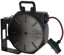 13 Amp 50 Ft Retractable Portable Extension Electrical Cord Reel System