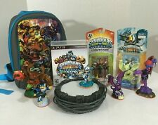PS3 Skylanders Giants Set With Game Includes Case Base Figures Playstation 3