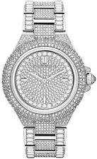 New Michael Kors Women's Camille MK5869 Silver Stainless-Steel Quartz Watch