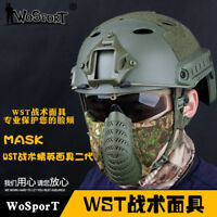 Hunting Airsoft Paintball Tactical Military Shooting 1000D Nylon Half Face Mask
