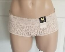 8a4546221 Wacoal 870205 Halo Lace Boyshort Panty L Naturally Nude