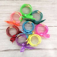 Adults Kids Glitter Tube Jelly Bangles Set Glitter Filled All Weather Bracelets