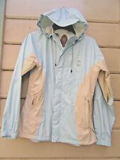 Sierra Designs UL HURRICANE Waterproof Hooded Packable Rain Jacket Wms L